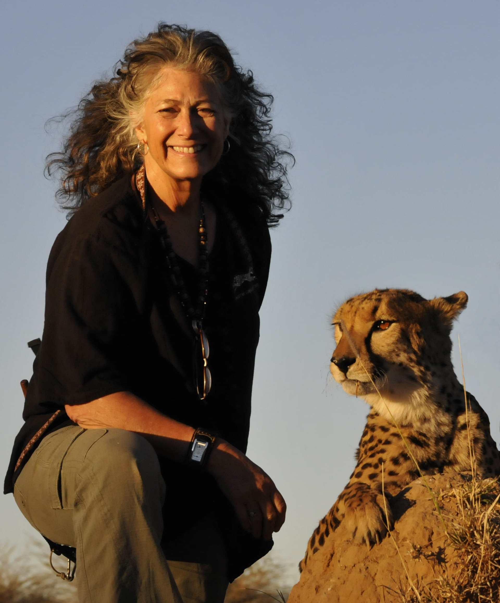 Laurie Marker, Courtesy of Cheetah Conservation Fund